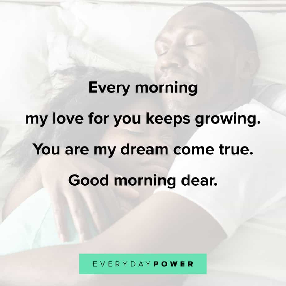 Good Morning Quotes for Him long distance