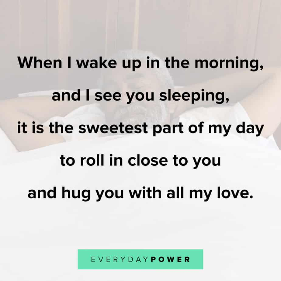 Good Morning Quotes for Him to make him smile