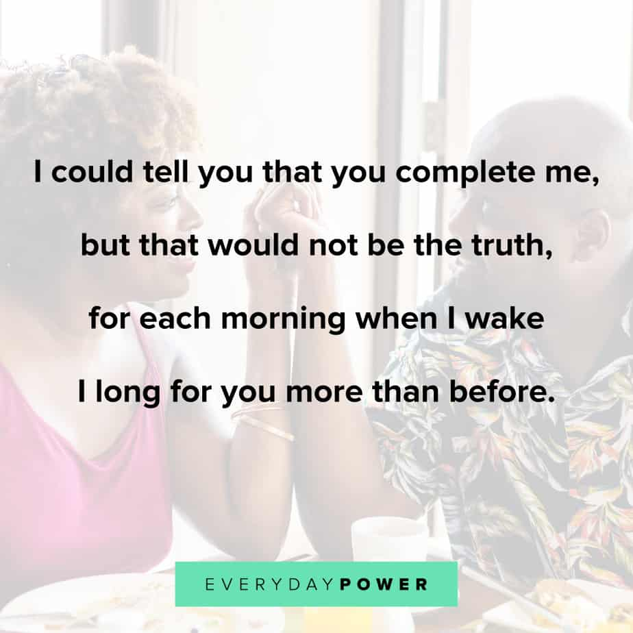 Good Morning Quotes for Him to make him feel complete