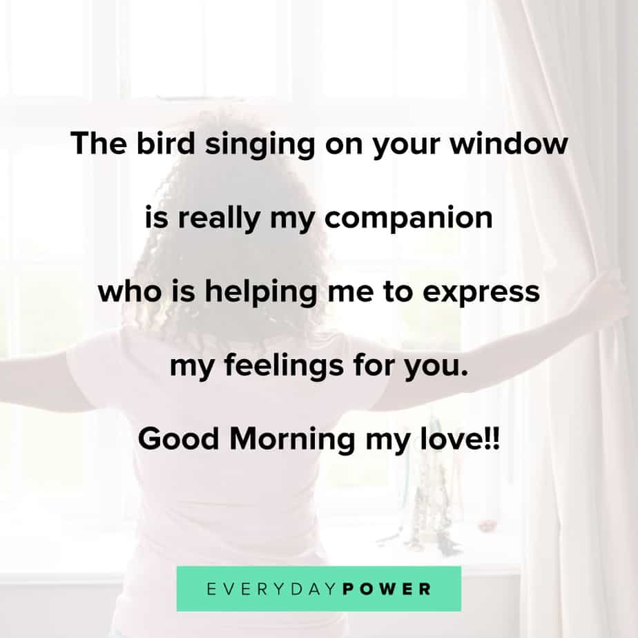 Good Morning Quotes for Him to express your feelings