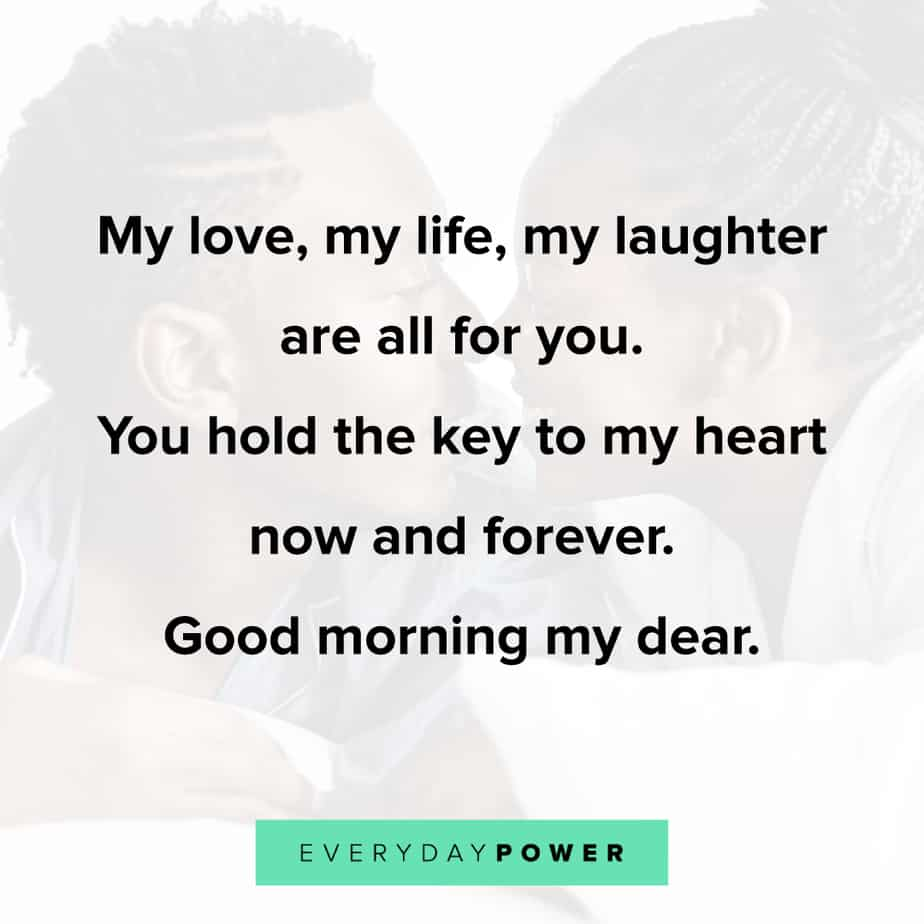 happy Good Morning Quotes for Him