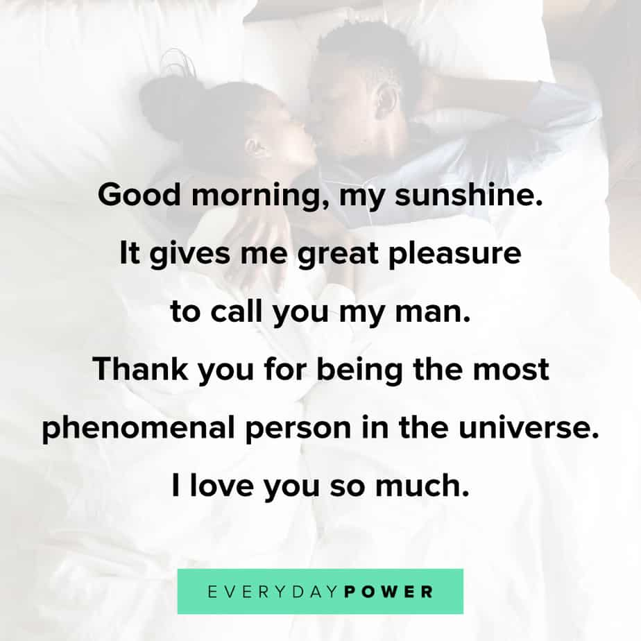 flirty Good Morning Quotes for Him