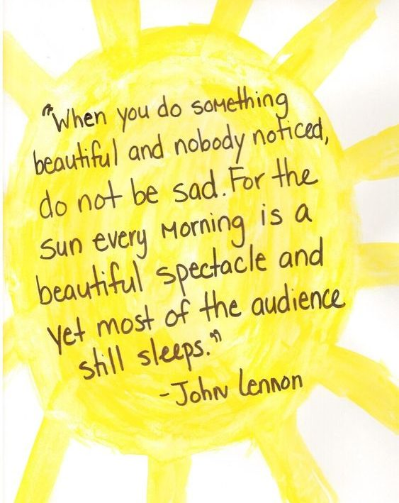 beautiful good morning john lennon