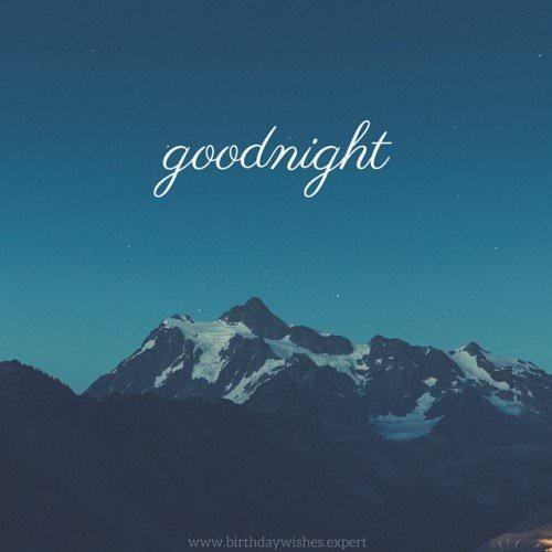 Goodnight.