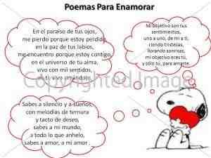 3 poemas para enamorar a tu novia