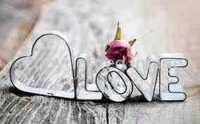 Imagen de la palabra amor en inglés