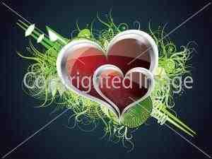 Los corazones como símbolo del amor (2)