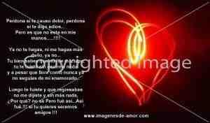 Poemas de Amor para mi Novia Pidiendo Perdón (4)